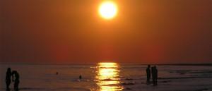 Solnedgang over Vesterhavet
